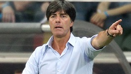 Germany coach Joachim Low during his side's 3-1 defeat by Argentina.
