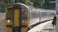 The Borders Railway re-opened in September