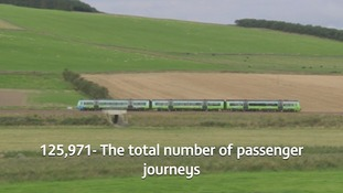 Over 125,000 passenger journeys have been made in the first month alone.
