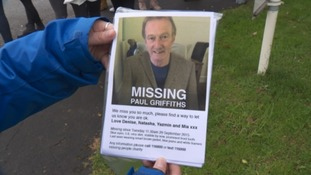 Paul Griffiths' family are concerned for his safety.