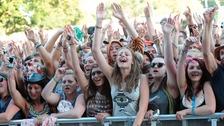 Revellers at V Festival last year