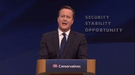 Cameron attacks 'Britain-hating' Corbyn in conference speech