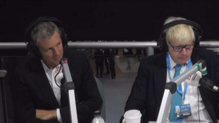 Zac Goldsmith and Boris Johnson.