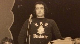 ITV News presenter Alastair Stewart in his university days