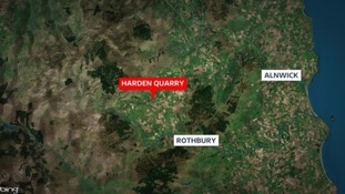 Man dies 'after tractor plunges 50ft into quarry'