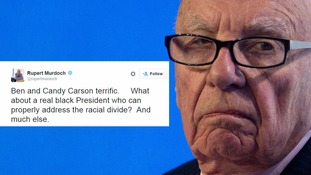 Rupert Murdoch sparks outrage after suggesting Barack Obama is not a 'real black president'