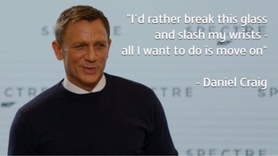 Daniel Craig: I'd rather slash my wrists than do another James Bond film