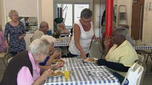 The Marchmont Club in Camden provides lunch and an opportunity to socialise for the elderly