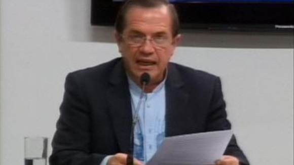 Ecuador&#x27;s Foreign Minister Ricardo Patino 