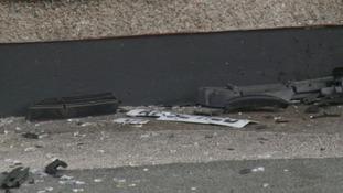 flat crash