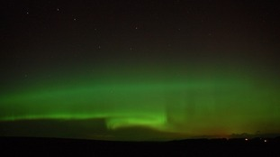 Dumfries and Galloway's view of the Aurora last night