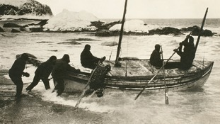 Shackleton's granddaughter opens centenary exhibition
