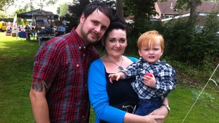 Johanne Powell and family