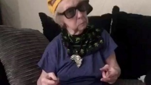 Great-great-great-grandmother, 93, becomes unlikely star with hip-hop dance video