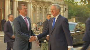 Ash Carter meets Michael Fallon