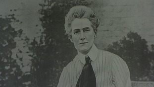 The Norfolk nurse Edith Cavell