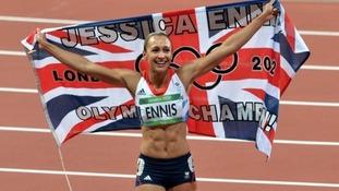 Ten thousand greet Jess Ennis in Sheffield