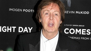 Sir Paul McCartney backs Pussy Riot trio who face prison over anti-Putin protest song