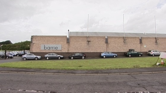Barrie site in Hawick
