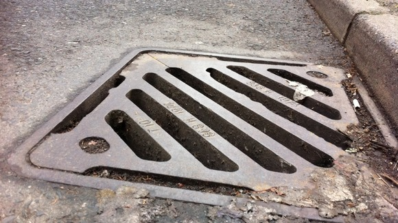 Forensic tagging system to try to reduce number of drain cover thefts