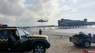 Weston super Mare rescue