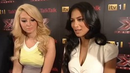 Tulisa and Nicole
