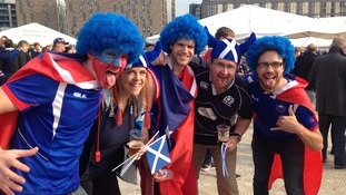Pictures: Scotland and Samoa fans take over the Toon as Newcastle host their final Rugby World Cup match