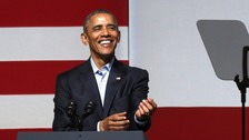 Barack Obama at San Francisco fundraiser