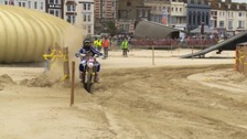 Thousands in Weymouth for high-speed motocross racing