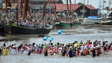 The 2014 Maldon Mud Race