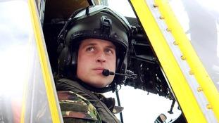 Prince William RAF