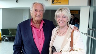 Michael Winner's widow Geraldine in hospital after attack