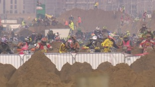 This year's Beach Race is thought to be one of the toughest yet