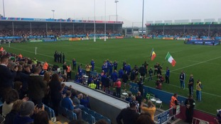 It's Italy v Romania at Sandy Park
