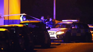 Police were called to a domestic dispute in County Louth when the officer was shot.