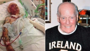 Great-granddad fighting for life after robbers beat him to pulp