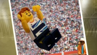 Greg Rutherford immortalised in Lego