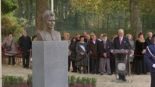Contemporary sculpture of Edith Cavell unveiled in Belgium