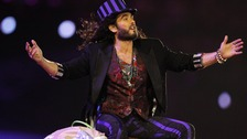 Russell Brand during the Olympic Closing Ceremony