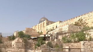 Israelis and Palestinians are caught in a row over Jewish access to their shared holy site