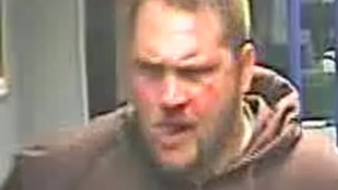 CCTV image of a passenger police want to find