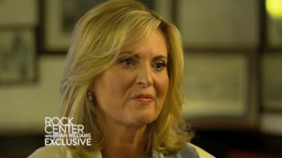 Ann Romney interviewed on 'Rock Center', NBC television