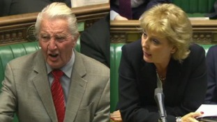 Anna Soubry faced questions in the Commons