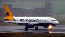 Pilots at Birmingham Airport have been targeted