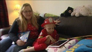 Mother hopes to raise £275k for her son's cancer treatment in America