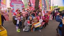 Japan fans, Kingsholm