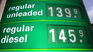 Petrol prices hit record highs in March