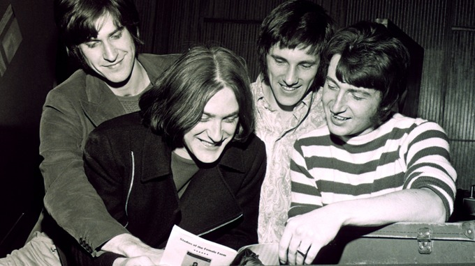 The Kinks in 1968.