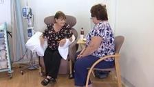 Cancer patient Susan Manser
