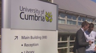 The University of Cumbria.